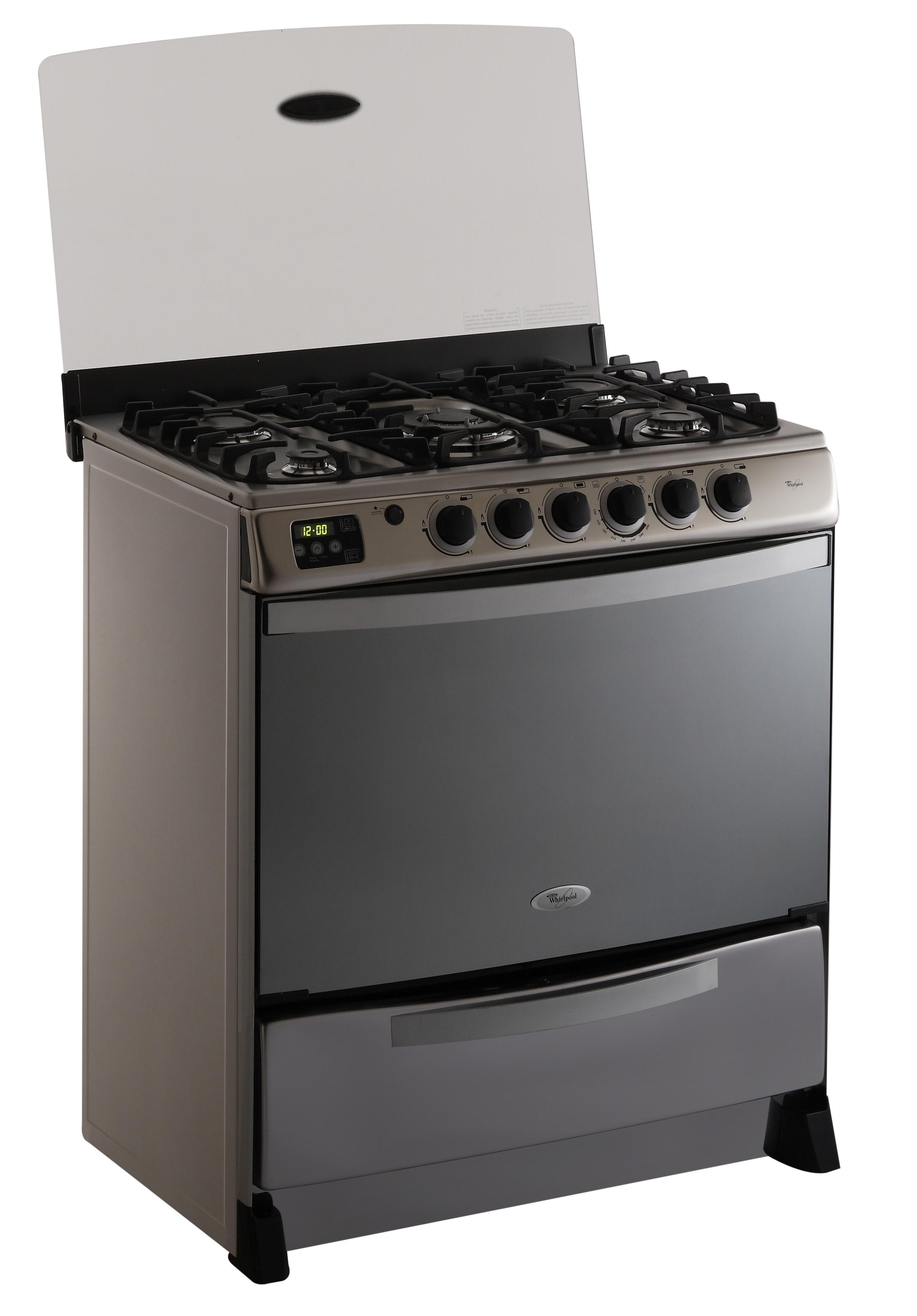Weg80pslg4 whirlpool per cocina a gas weg80pslg4 for Outlet cocinas a gas