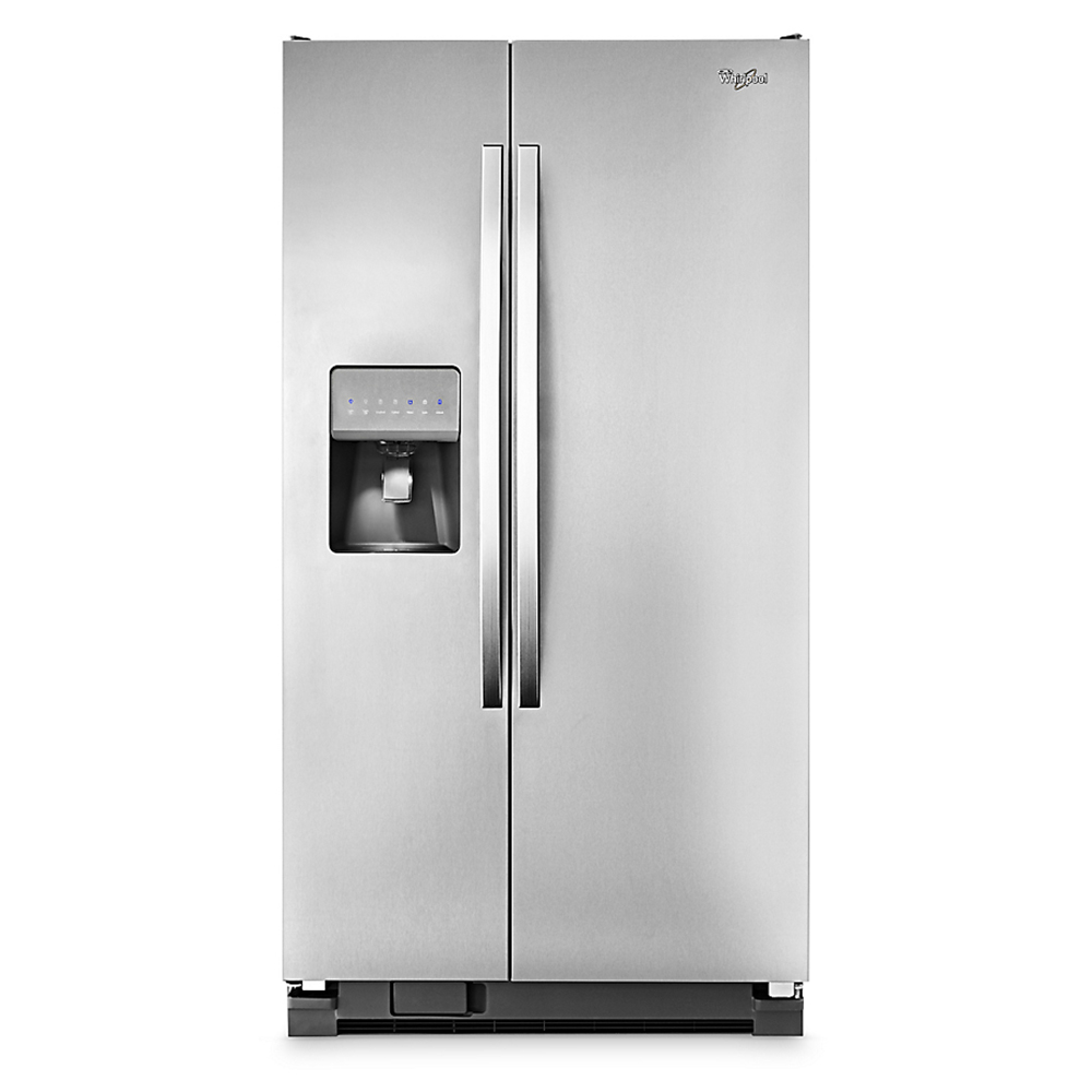 5wrs25fdbf per refrigerador side by side 737 lts for Refrigerador whirlpool