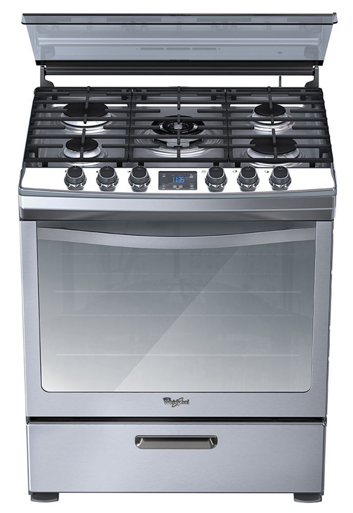 Lwf7551s whirlpool centro am rica estufa 5 quemadores for Manual de cocinas integrales