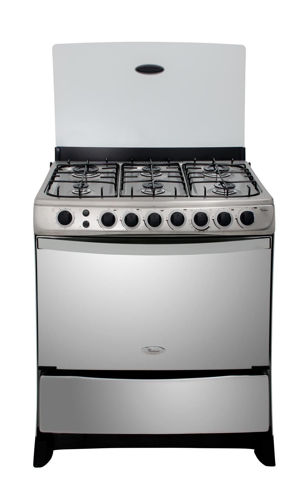 Whirlpool per cocinas 6 quemadores for Cocina gas profesional