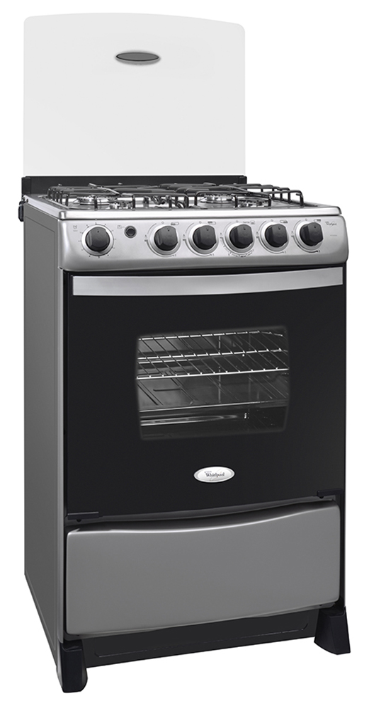 Whirlpool chile productos 4 quemadores for Cocina gas profesional