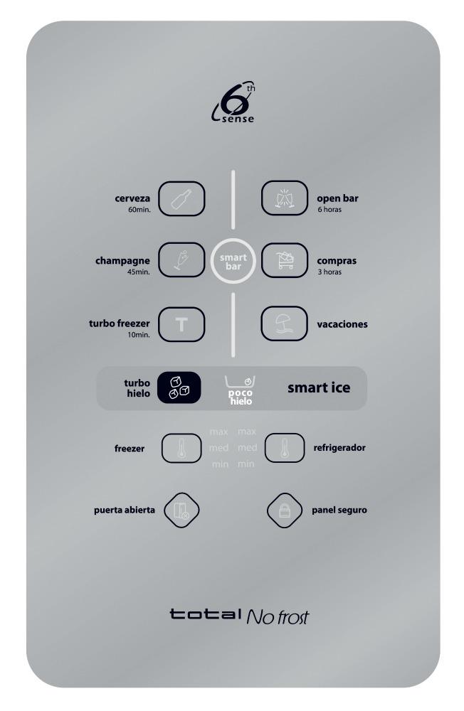 Wrw50nkbpe whirlpool per refrigerador no frost wrw50nrbpe - Dispensador latas nevera ...