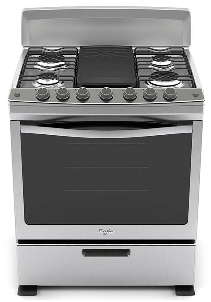 Whirlpool centro am rica estufas for Estufas de cocina de gas