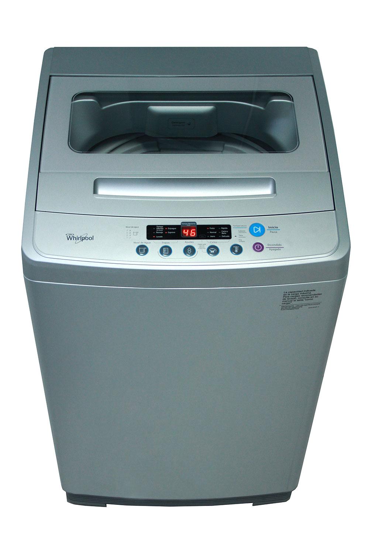 Lavadora Carga Superior – Whirlpool Efficient – 10,1 kg. – Silver