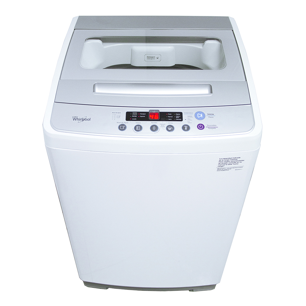 Lavadora Carga Superior –  Whirlpool Efficient –  8.5 Kg.