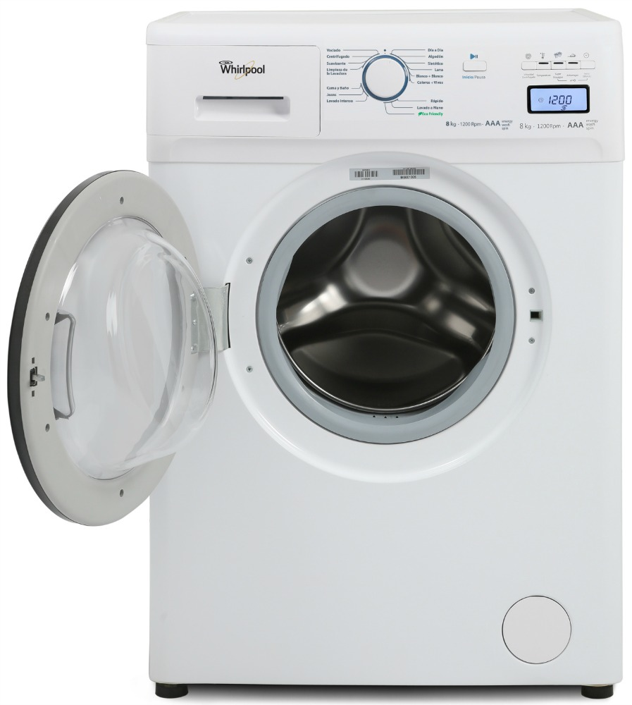 Manual de lavarropas whirlpool wfe71a