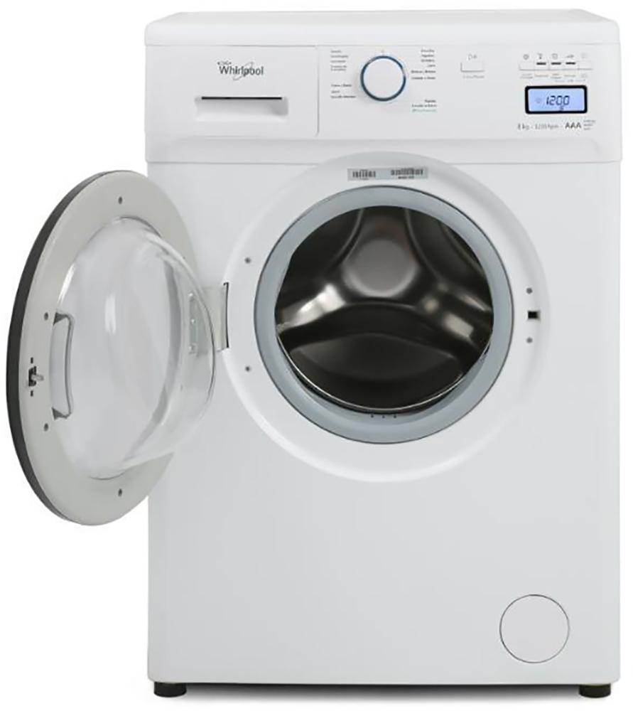 Wnq86ab whirlpool uruguay lavarropas carga frontal wnq86ab for Lavarropas en la cocina