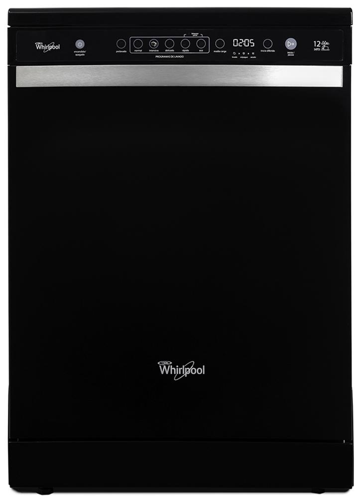 Lavavajillas – 12 cubiertos – Negro