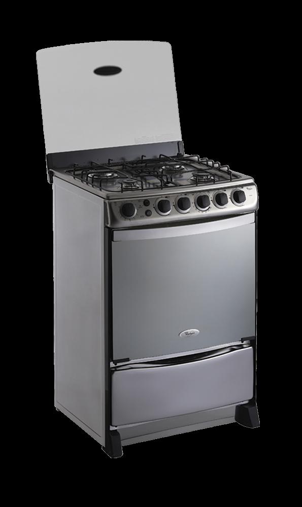 Cocina de gas moderna interesting estufa profesional de for Estufa profesional