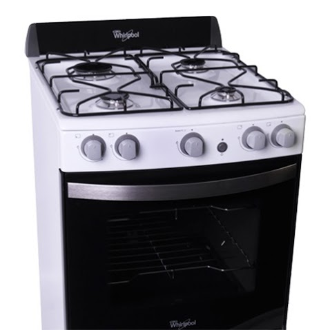Wfb56db whirlpool argentina cocina a gas 55cm 4 for Cocina whirlpool wfx56dg