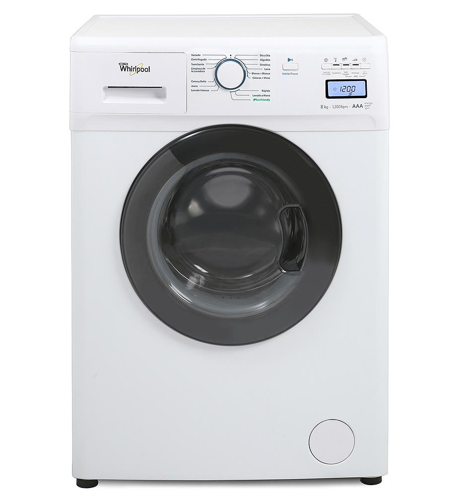 Lavarropas Carga Frontal – 8 kg. – Blanco