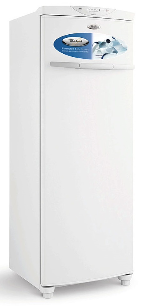 Freezer vertical de 280 lts Blanco