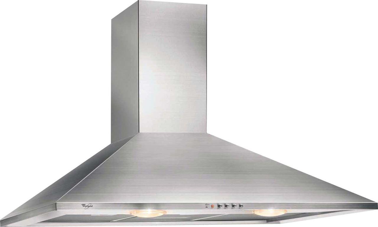 Wlx603aix cocina a gas 4 quemadores 65 lts whirlpool - Campana extractora 90 cm ...