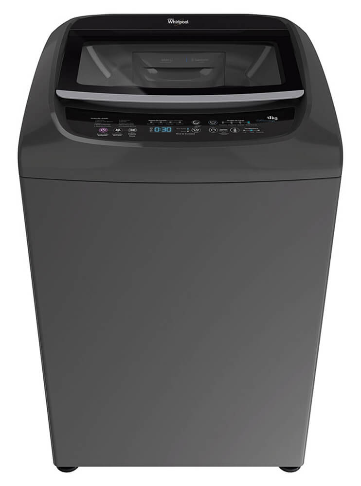 Whirlpool Intelligent c/ Turbo Power – 13 Kg. – Silver