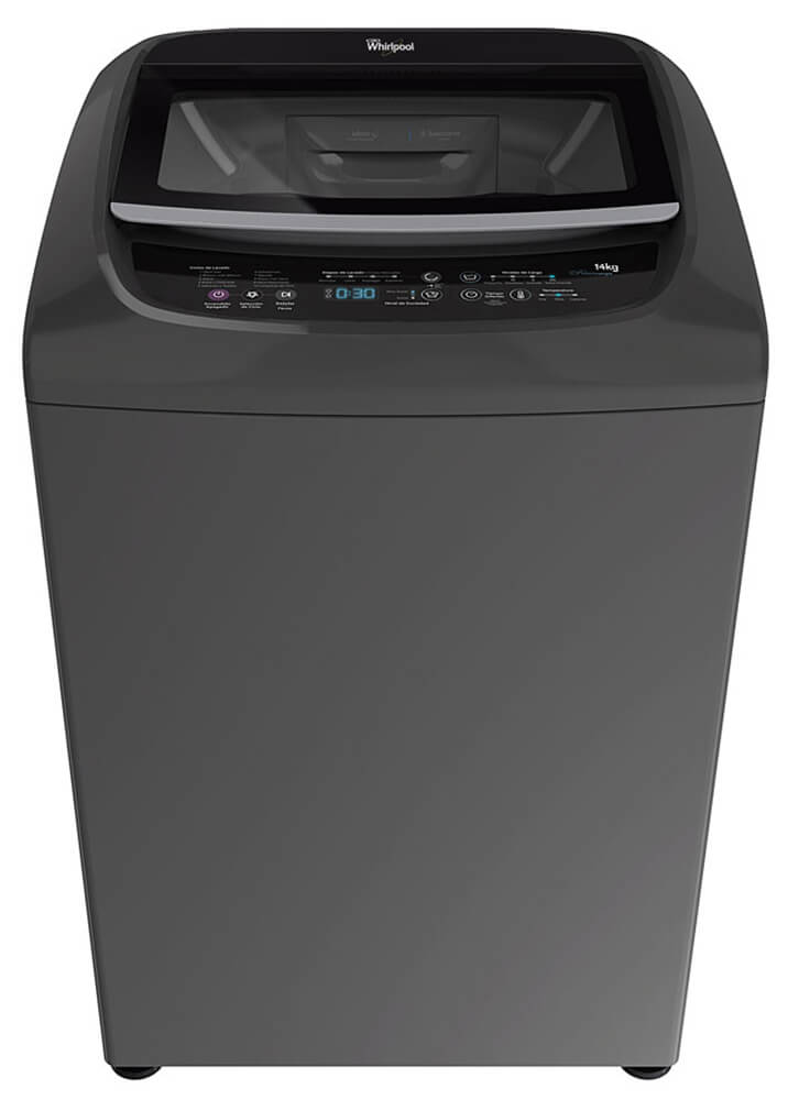 Whirlpool Intelligent c/ Turbo Power – 14 kg. – Silver
