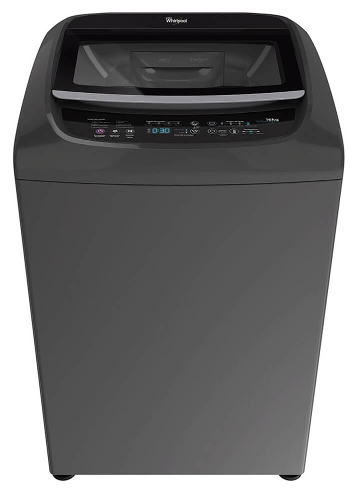 Whirlpool Intelligent c/ Turbo Power – 16 Kg. – Silver