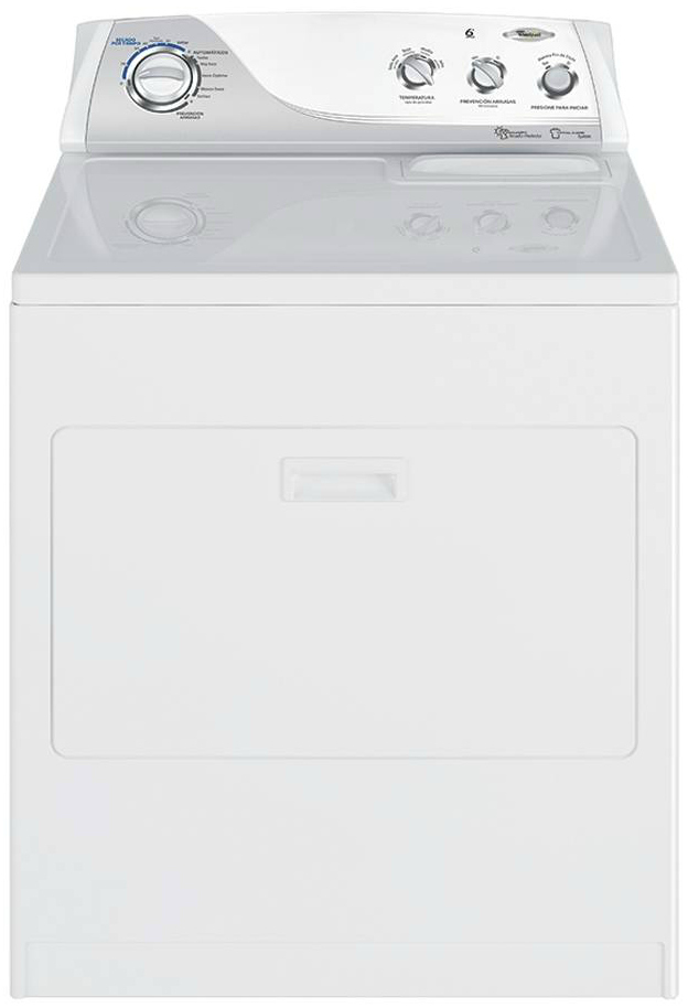 Secadora a Gas Carga Frontal – 17 Kg. – Blanco