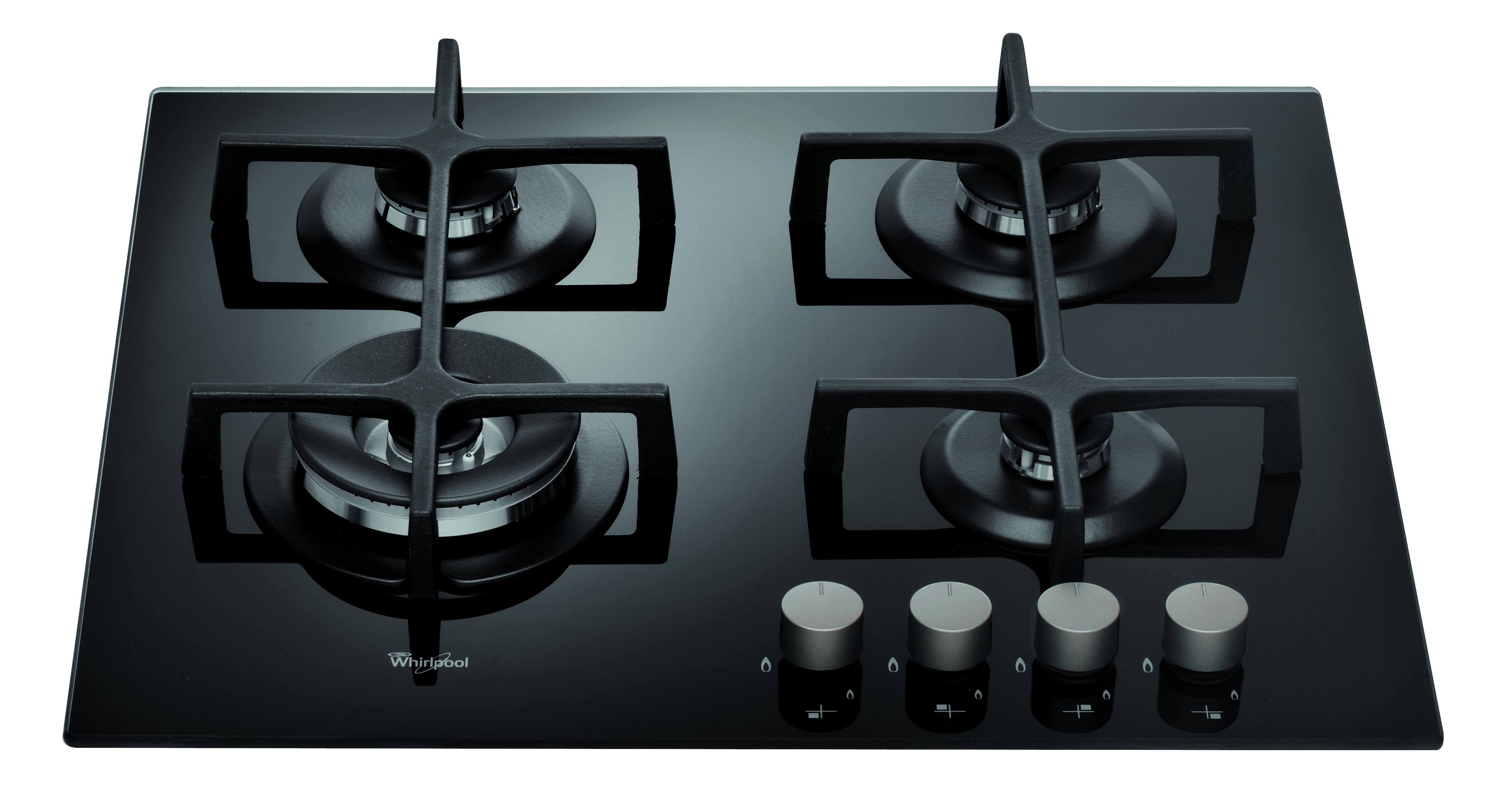 Cocina empotrable 24″, 4 quemadores – A Gas