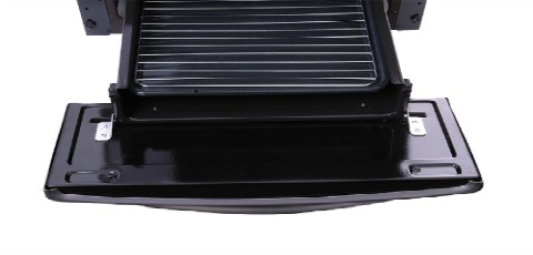 Caj n parrilla deslizable con asadera inclu da for Cocina whirlpool wfb56db