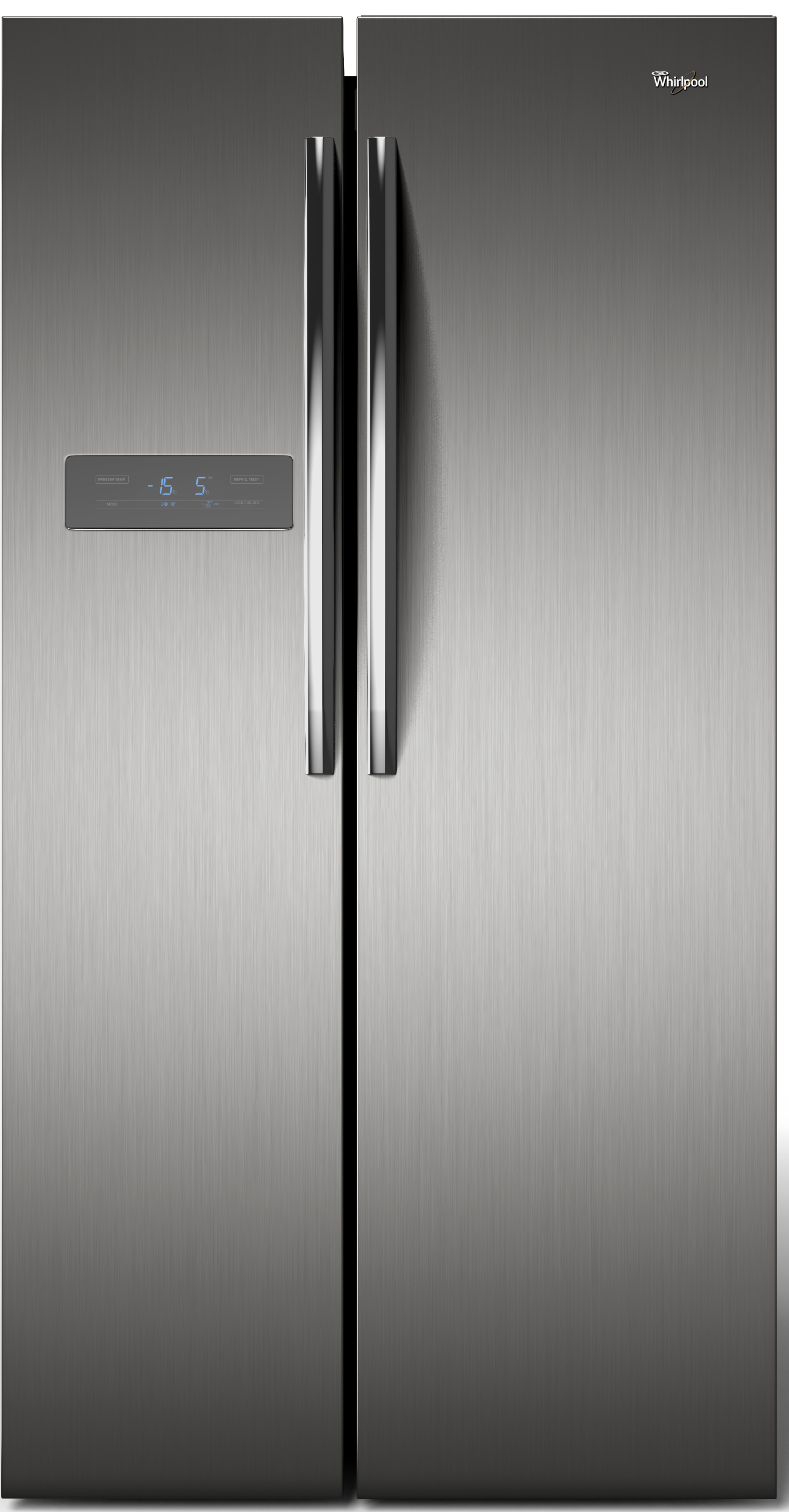 wrs49aktww chile refrigerador side by side whirlpool select 527 lts. Black Bedroom Furniture Sets. Home Design Ideas