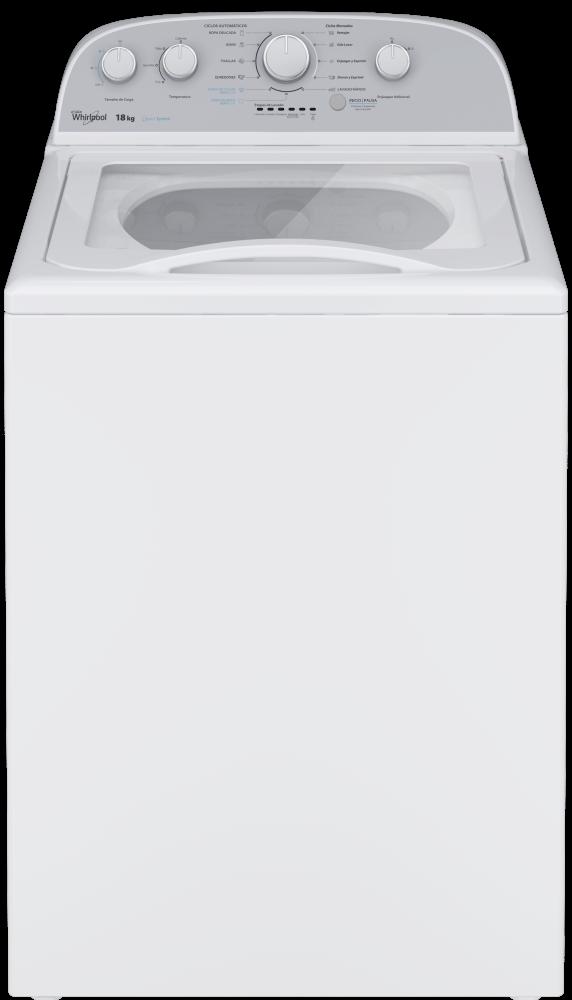 Lavadora Carga Superior con Agitador Whirlpool Excel – 18 kg