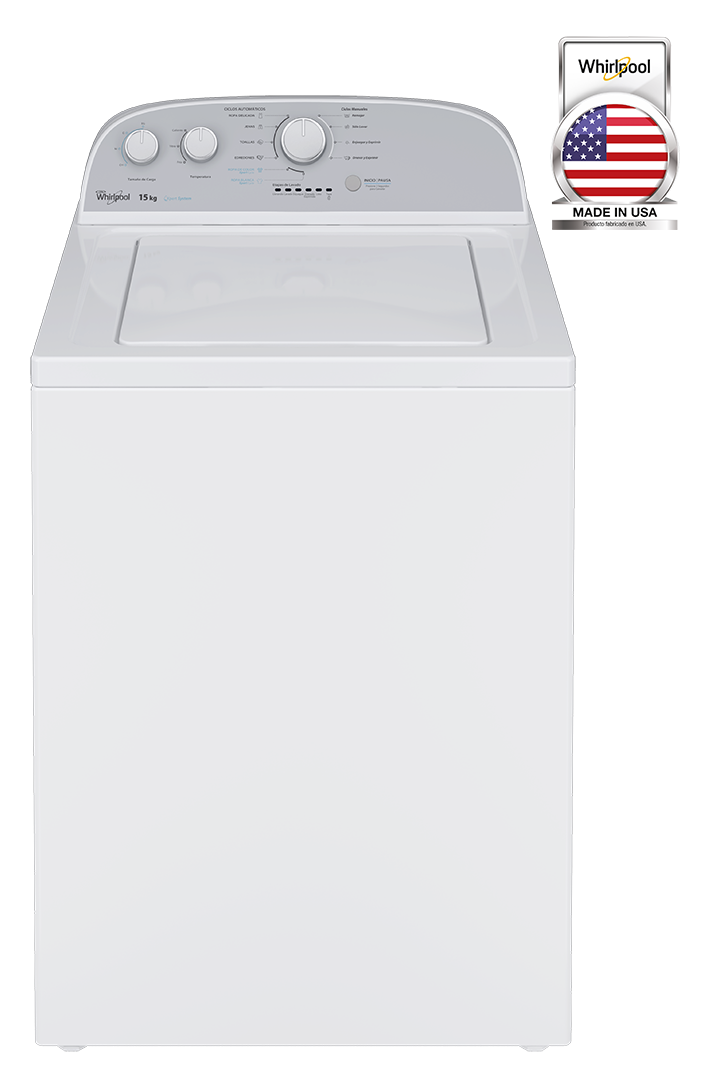 Lavadora Carga Superior con Agitador Whirlpool Excel – 15 kg