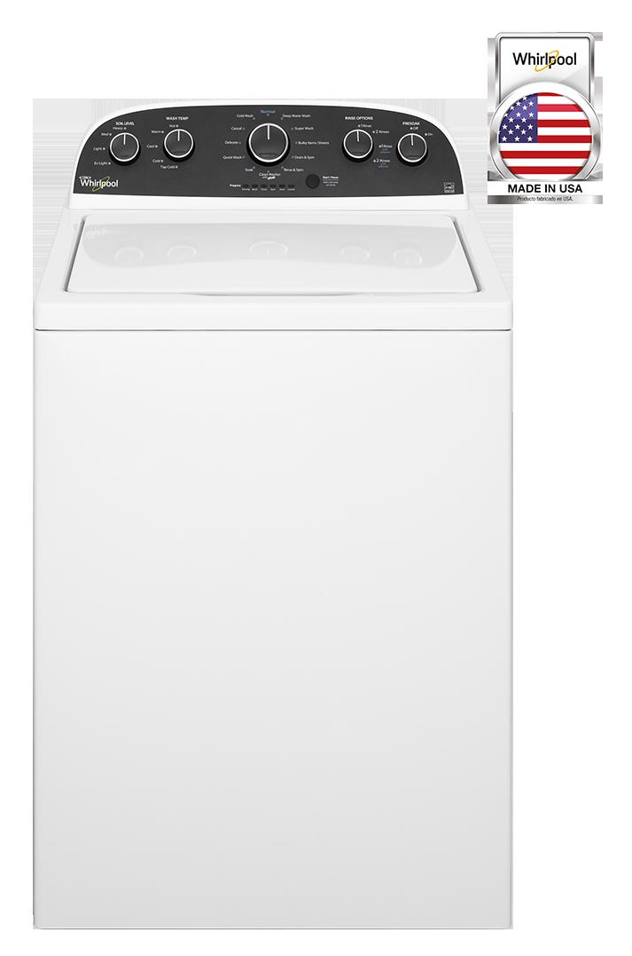 Lavadora Carga Superior con Agitador Whirlpool Excel –  19 kg