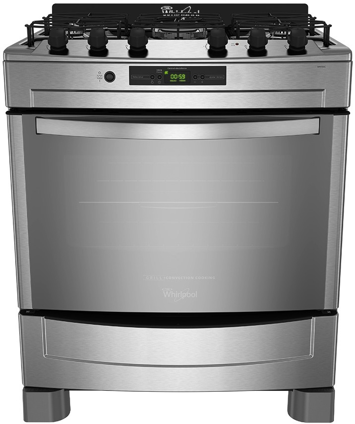 Whirlpool argentina cocci n for Cocina 6 hornallas
