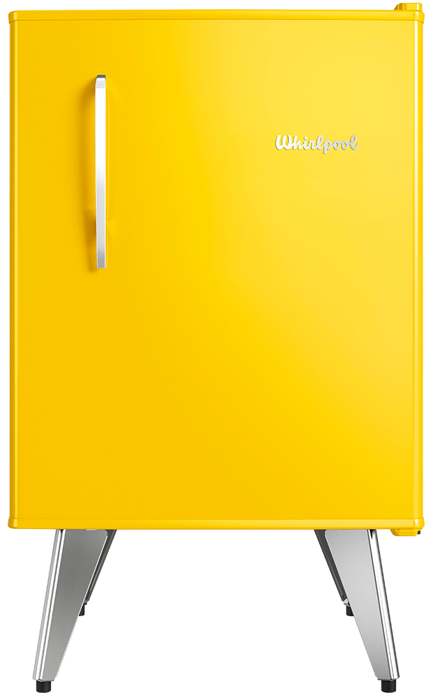 Heladera Compacta Retro – Sunlight Yellow – 76 lts
