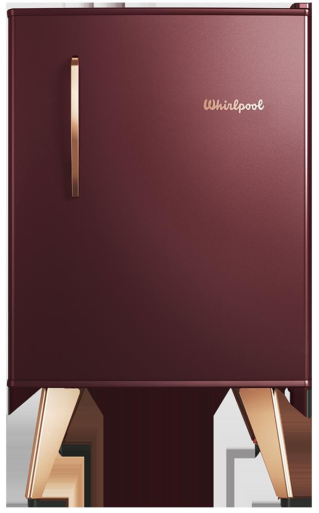 Heladera Compacta Retro – Marsala Wine- 76 lts