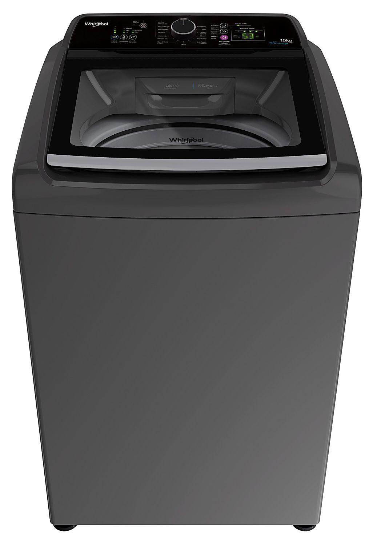 Lavarropas automático – 10 Kg – Gris