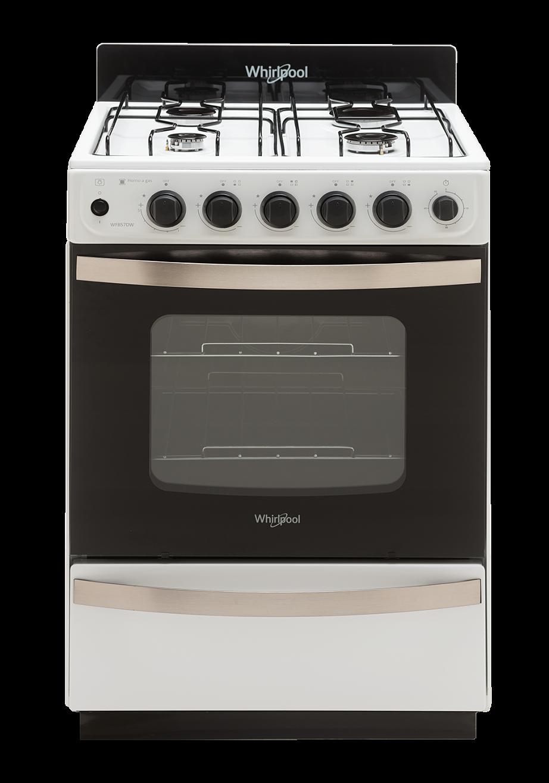 Cocina – 4 Hornallas – 56 cm – Blanco